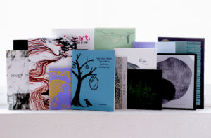 A small collection of chapbooks by Asian American poets. Photo credit: Iris A. Law