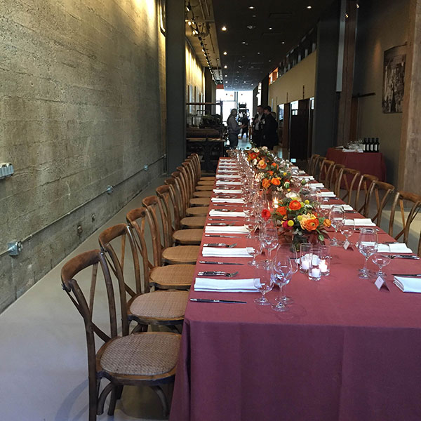 unique holiday banquet venue for corporate parties